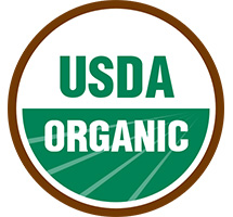 The USDA certification badge