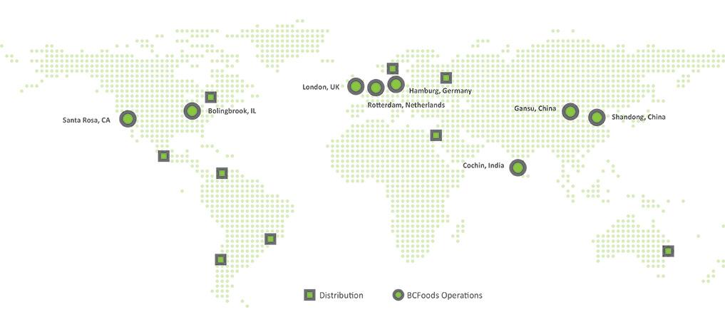 BCFoods is Global