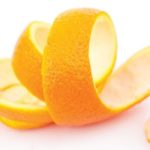 orange citrus peel