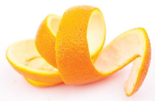 orange citrus peel