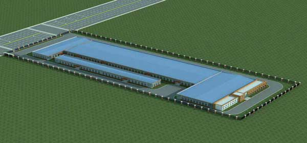 Plans for BCFoods Hebei, China dehydration facility