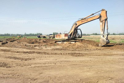 Breaking ground for BCFoods Hebei, China dehydration facility