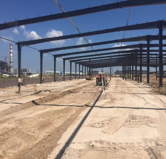 Framing BCFoods Hebei, China dehydration facility