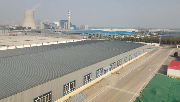 Exterior of BCFoods Hebei, China dehydration facility